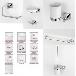 Ekskluzywny zestaw łazienkowy 9000 MOSIĄDZ 10 elementów