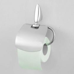 Papiernica WC CHROM 1900 - uchwyt na papier toaletowy z klapką
